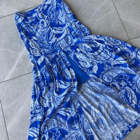 Free People Dresses & Skirts - Free People Maxi Skirt with slit
